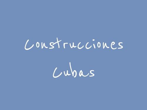 Construcciones Cubas