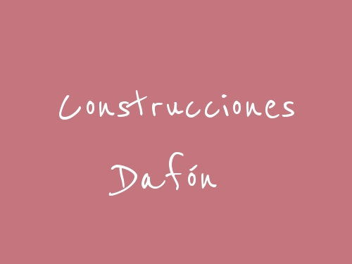 Construcciones Dafón