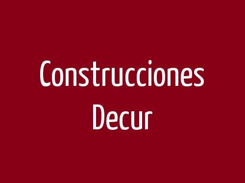 Construcciones Decur