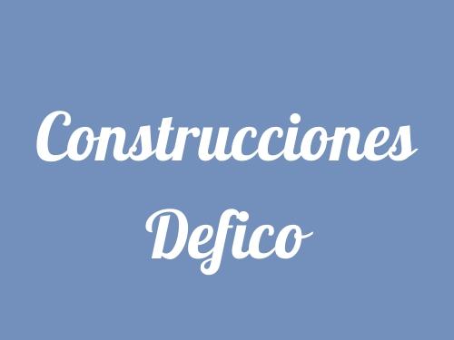 Construcciones Defico