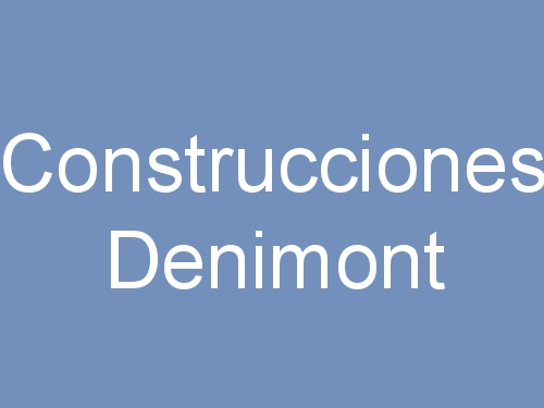 Construcciones Denimont