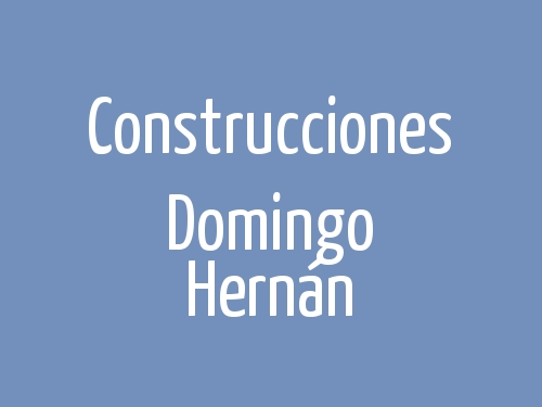 Construcciones Domingo Hernán