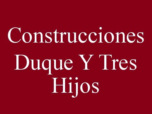 Construcciones Duque Y Tres Hijos