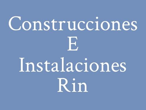 Construcciones E Instalaciones Rin