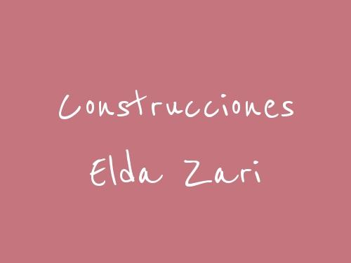 Construcciones Elda Zari