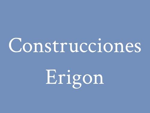 Construcciones Erigon
