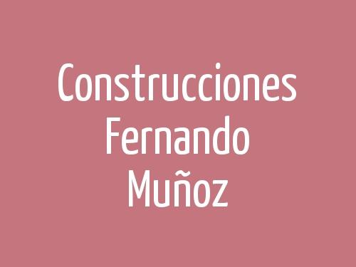 Construcciones Fernando Muñoz