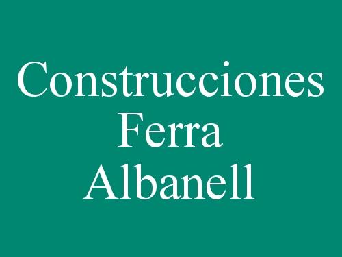 Construcciones Ferra Albanell