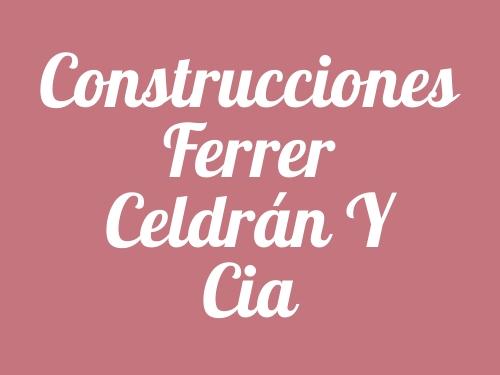 Construcciones Ferrer Celdrán Y Cia