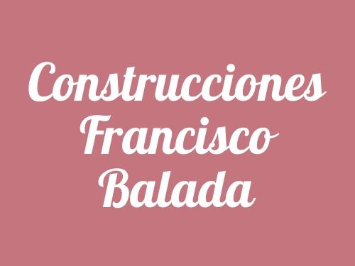 Construcciones Francisco Balada