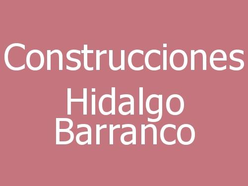 Construcciones Hidalgo Barranco