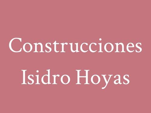 Construcciones Isidro Hoyas