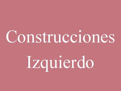 Construcciones Izquierdo
