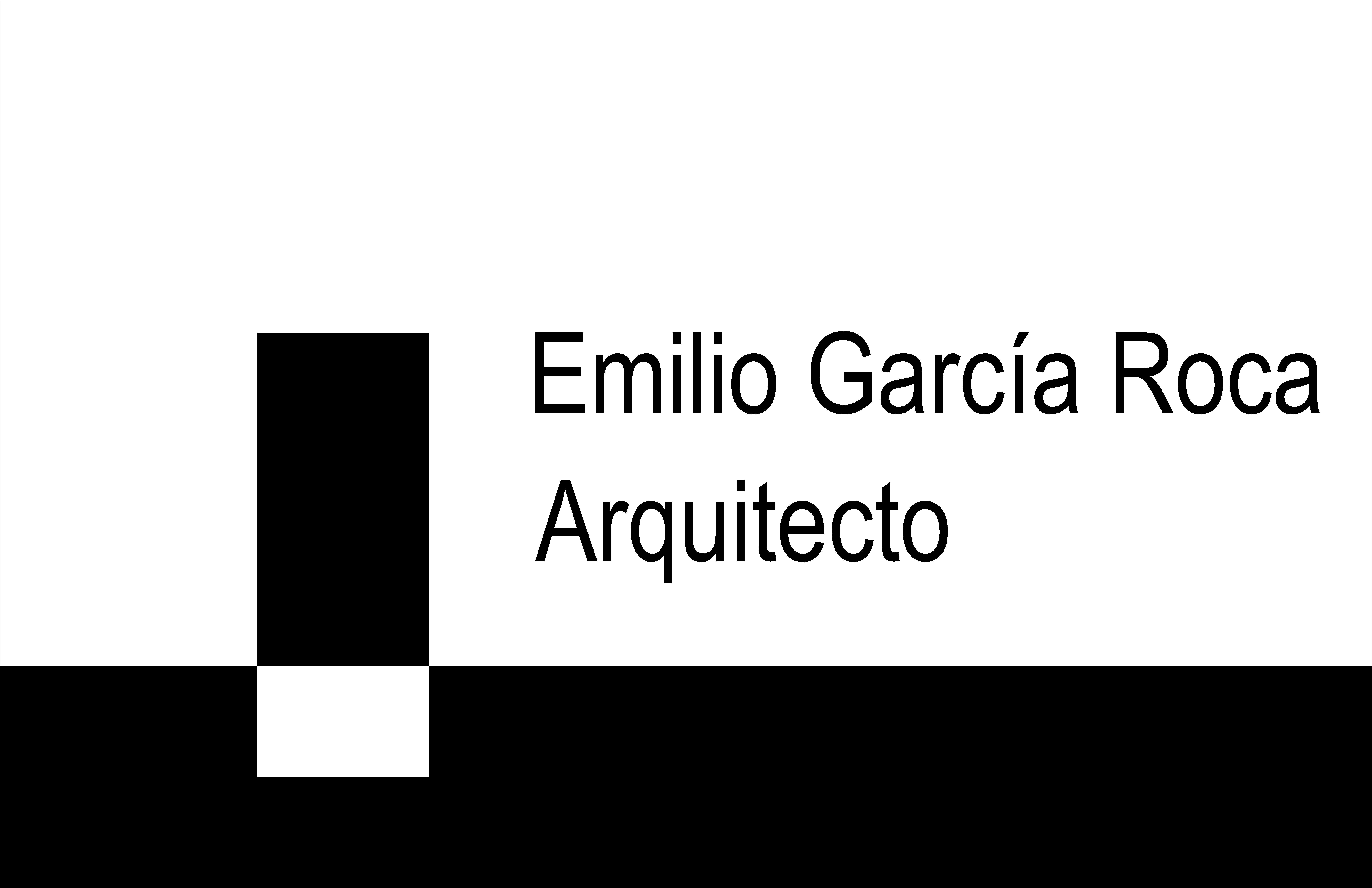 Emilio García Roca. Arquitecto.