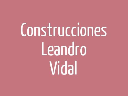 Construcciones Leandro Vidal