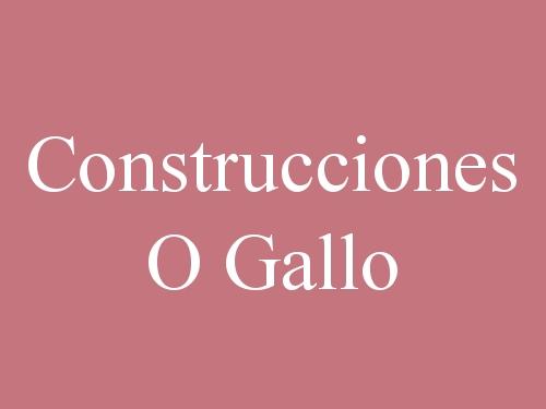 Construcciones O Gallo