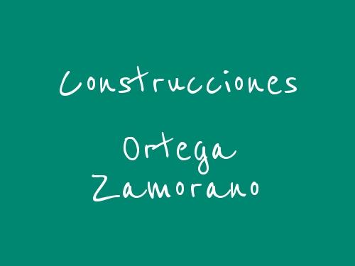 Construcciones Ortega Zamorano