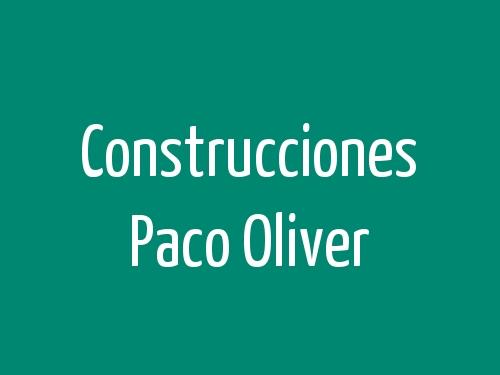Construcciones Paco Oliver