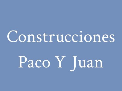 Construcciones Paco Y Juan