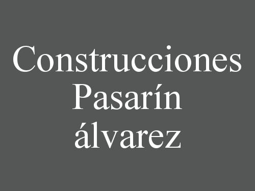 Construcciones Pasarín álvarez