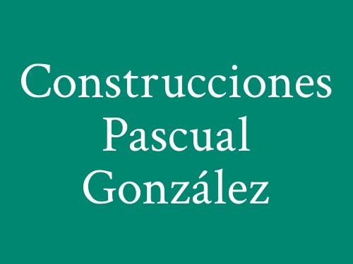 Construcciones Pascual González
