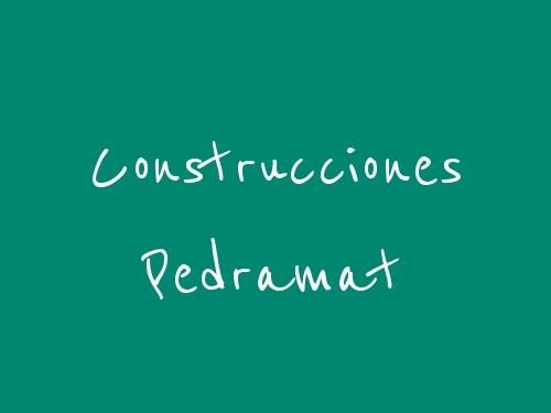 Construcciones Pedramat