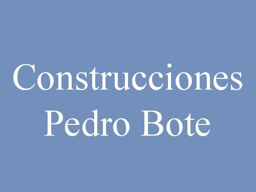 Construcciones Pedro Bote