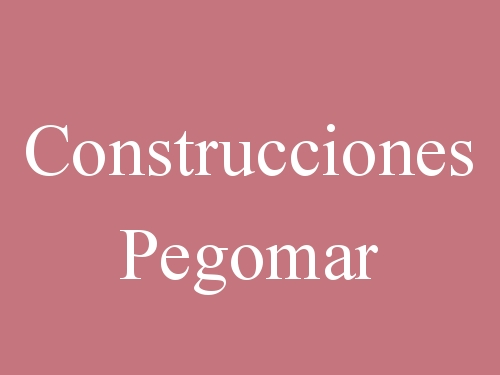Construcciones Pegomar