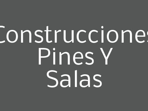 Construcciones Pines Y Salas