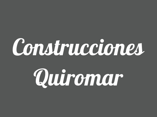 Construcciones Quiromar