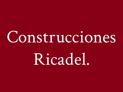 Construcciones Ricadel.