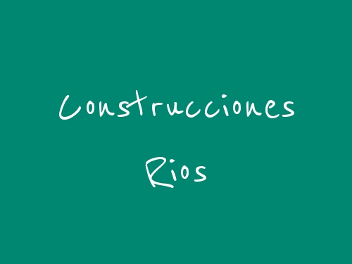 Construcciones Rios