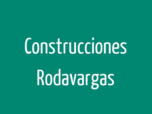 Construcciones Rodavargas