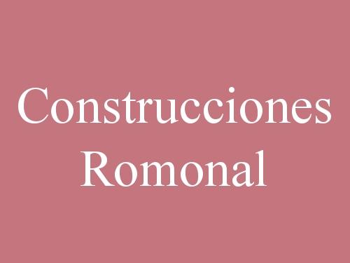 Construcciones Romonal