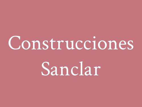 Construcciones Sanclar