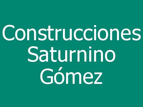 Construcciones Saturnino Gómez