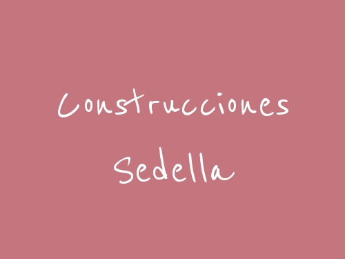 Construcciones Sedella