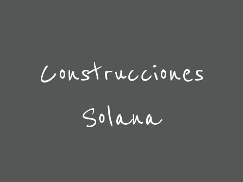 Construcciones Solana