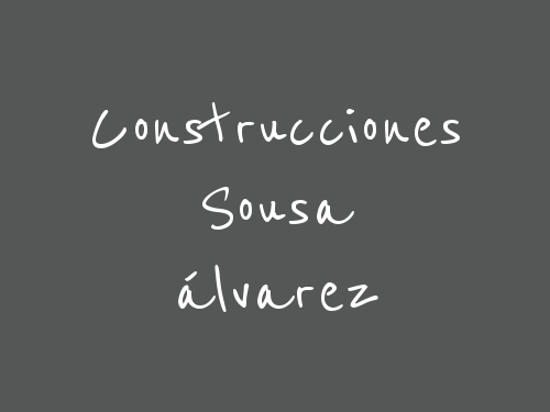 Construcciones Sousa álvarez