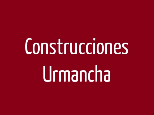Construcciones Urmancha