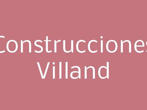 Construcciones Villand