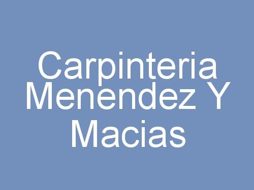 Carpinteria Menendez y Macías