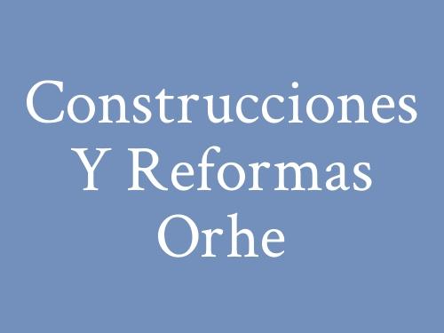 Construcciones Y Reformas Orhe