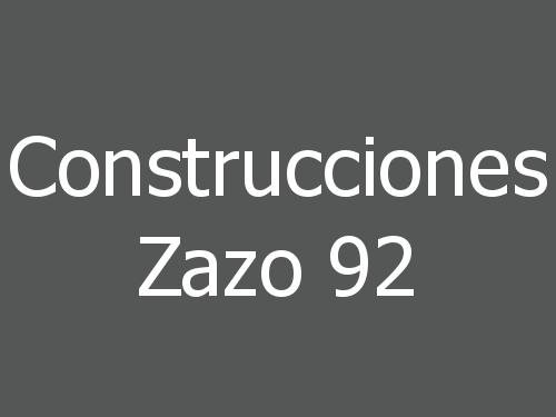 Construcciones Zazo 92