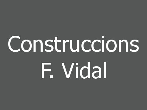 Construccions F. Vidal