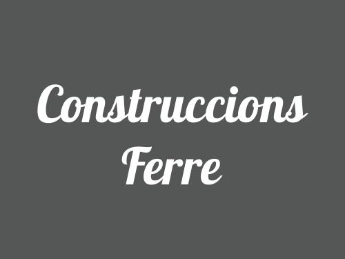 Construccions Ferre