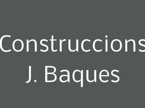 Construccions J. Baques