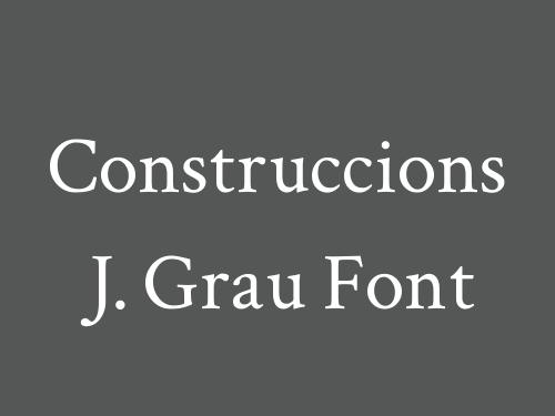 Construccions J. Grau Font