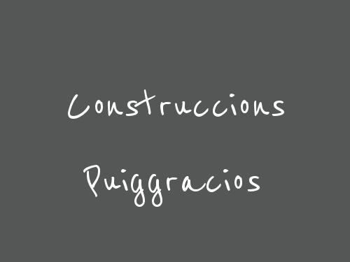 Construccions Puiggracios