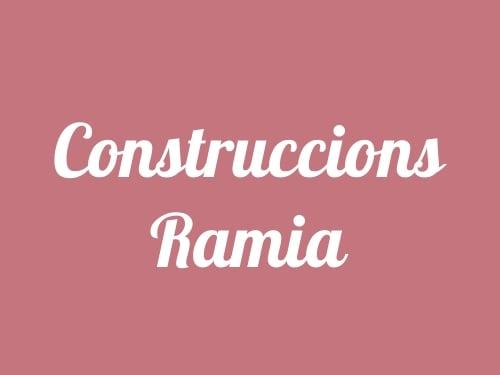 Construccions Ramia